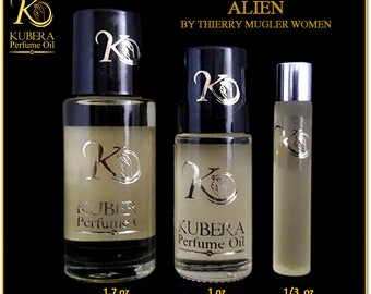 Type Alien perfume in oil for women 1/3oz 1oz 1.7oz