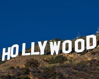 Hollywood Sign California 24 X 36 Inch Poster Sweet