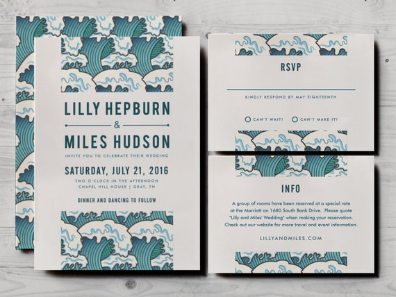 Japanese wedding invitation set including formal rsvp and like this item stopboris Choice Image