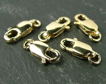 Gold Filled Lobster Claw Clasp 10mm