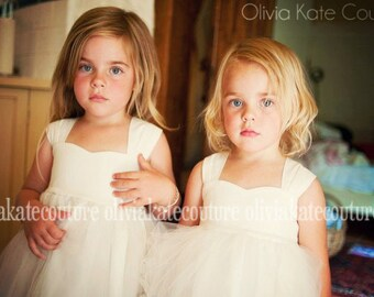 Flower Girl Dress Ivory, Flower Girl Dress, Flower Girl Dress White, Flower Girl Dress Lace, Flower Girl Boho, As Seen On Huffington Post