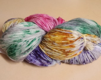 CC18/525 Handdyed Sock Yarn 4ply