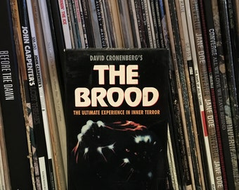 The Brood VHS * horror VHS *