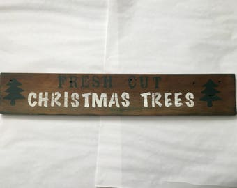 Reclaimed Wood Holiday Sign