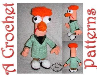 Beaker a Crochet Pattern by Erin Scull