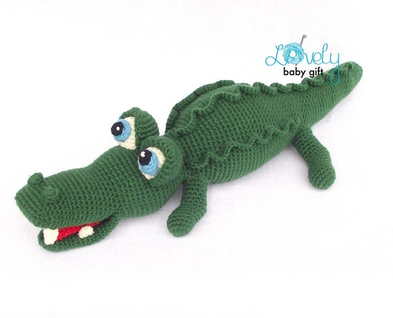 Amigurumi Pattern Crochet Alligator Amigurumi Animal