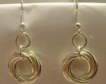 Mobius Ring Earrings