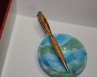 Jerusalem Olive Wood Pen