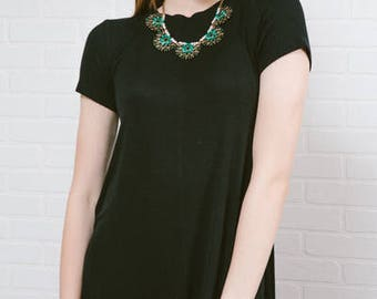 Victoria Bib | Emerald