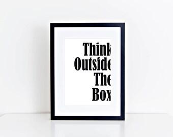 Digital Download Typography Print