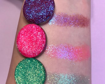 SPRING MAGIC COLLECTION 3 all New pressed glitter eyeshadows