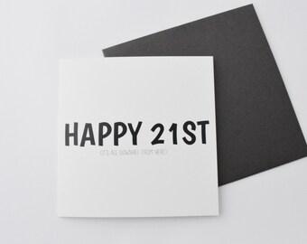 Happy 21st