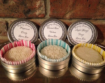 Solid Lotion Bar handcrafted natural
