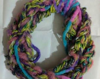 Baby girl necklace Christmas scarf Christmas scarf little girl scarf girl