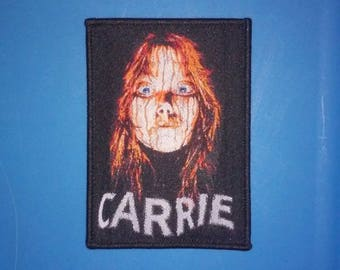PATCH - Carrie - Horror movie - 70s, Stephen King, woven / iron-on
