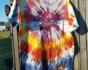 Molson Upcycled The Dye T-shirt XL