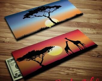 Sunset Sunrise Gift Envelope - Bright