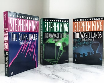The Dark Tower: Books I-III by Stephen King (The Gunslinger, The Drawing of the Three, The Waste Lands)