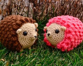 Hedgehog Toy, Crochet Hedgehog, Stuffed Hedgehog, Amigurumi Hedgehog, Hedgehog Plushie, Woodland Animal, Forest Animal, Crochet Toy