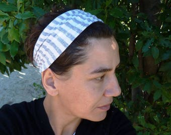 Headband made from recycled cotton jersey