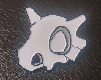 Cubone Skull Lapel Pin