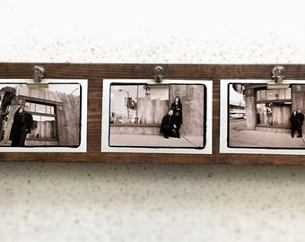 Rustic Horizontal Photo Display Board