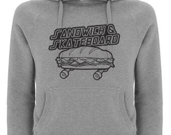 Kids Sandwich and Skateboard #SmallShorehamSquad Hoodie