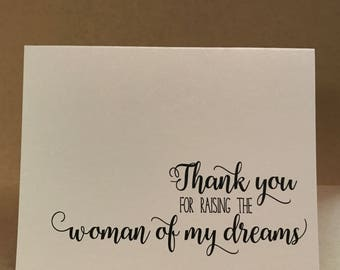 Thank you Father Mother of the Bride   Raising Woman of my Dreams   Parents of the Bride