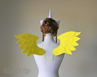 My Little Pony Cosplay Wings, Fluttershy Twilight Sparkle Rainbow Dash, Pegasus Kids Adult Halloween Costume Accessories
