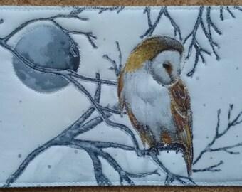 Postcard - Barn Owl