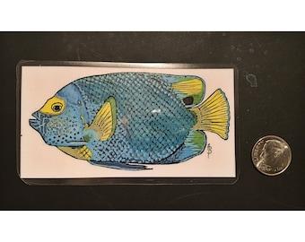 Parrot Fish Magnet