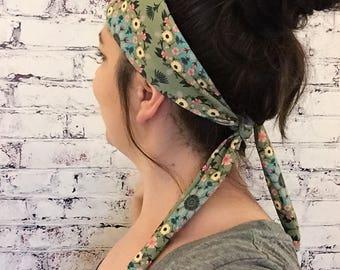 Gypsy Bird Nature Mandala - Eco Friendly Yoga Headband