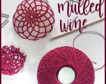 Mulled Wine Ballerina Bun Cover