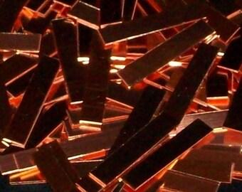 Copper Tags - 18 Gauge, stamping blanks, metal stamping blanks, copper strips, copper bar, Bopper, 18 gauge blanks