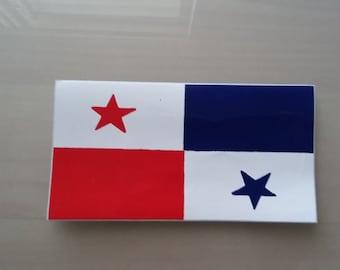 Panama flag Bandera Vinyl Decal Sticker NEW