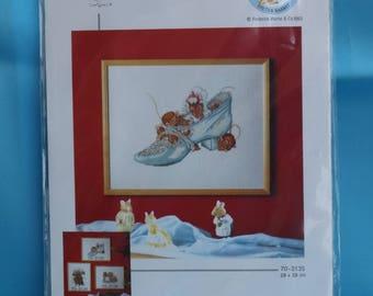 Permin of Copenhagen Cross Stitch Kit of Hunca Munca. New and Complete (S169)