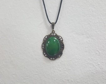 Green Colour Elegant necklace women's jewelry fashion jewels