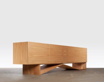 i180 Sideboard - Modern entertainment unit, sideboard, scandi style, minimalist meadia unit, geometric furniture
