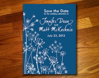 100 Dandylion Save the Date Postcards