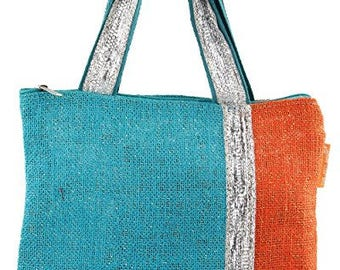 Womens Jute Bag Tote Style - Combo of 2 Gift Bags