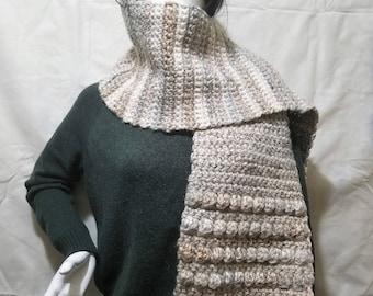 Thick Crochet Handmade Scarf
