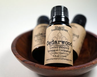Himalayan Cedarwood Essential Oil - pure essential oil