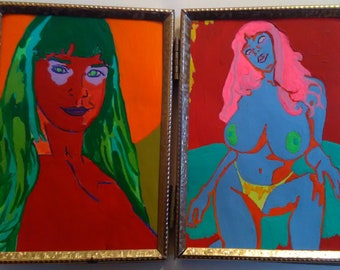The Sorceress Diptych