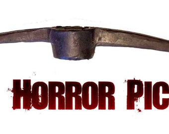 Horror Pick Axe Prop