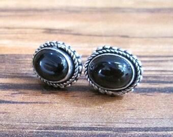 Black Onyx Earrings,Gemstone Earrings,Silver Plated Earrings,Christmas-Wedding-Anniversary-Birthday-Lucky For Her-Gift For Her Earrings41