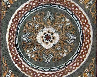 Floral Art Mosaic Panel - April V