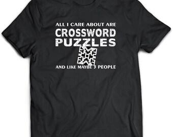 Crossword Puzzle Gift. Crossword puzzle shirt.