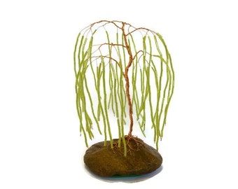 Beaded Weeping Willow tree