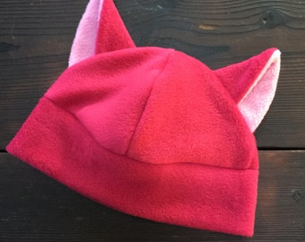 Pink Pussy Hat Pink Cat Hat