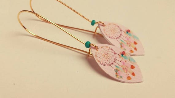 Sleepers boho navettes feathers dreamcatcher dream catcher